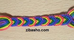 1111 آموزش بافت دستبند دوستی مدل برگ