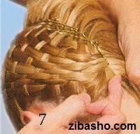 171 آموزش شینیون حصیری