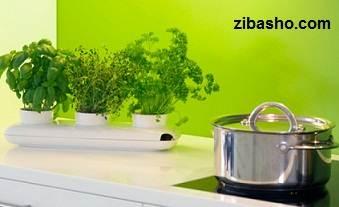 2 herb pot trio by sagaform سبزی سفره را خود بکارید