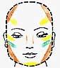 oblongface چارچوب گریم وآرایش