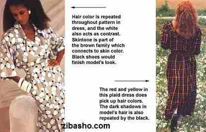 aspect2 blacklady redhead plaid Copy راهنمای کاربردی ست کردن بر اساس رنگ ها