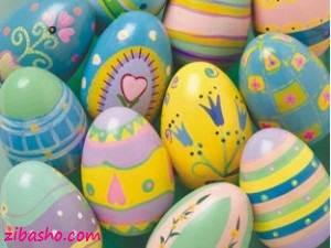 painted easter eggs 300x225 ایده هایی برای تخم مرغ هفت سین