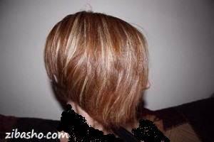 تقویت موهای آسیب دیده با دکلره