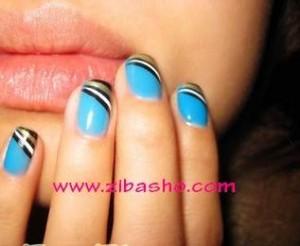 Hand Nail Art 300x246 ناخن هایتان را طراحی کنید