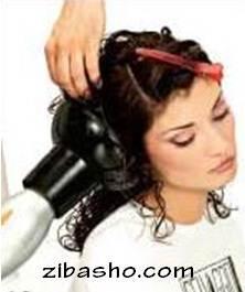 f17 آموزش فر کردن موها با دی فیوزر(دیسپانسر)