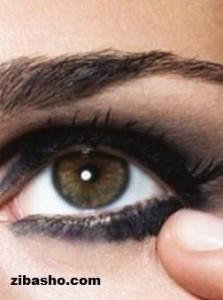 سایه چشم تیره