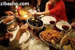 Optimized dinner party نحوه سرو غذا در میهمانی