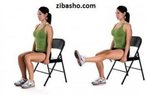 chair lift 300x197 چند ورزش مفيد براي زانوها