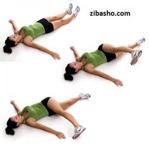 piriformis1 300x300 چند ورزش مفيد براي زانوها