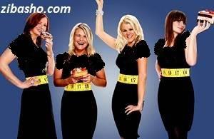 thin tape girls1 تغذیه ويژه افزايش وزن