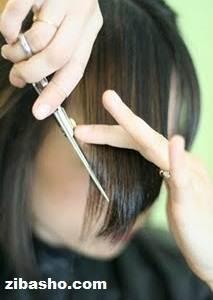 32 چگونگی کوتاه کردن چتری کج