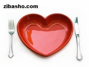 Cutlery Heart 476x357 Optimized غذاهایی که بعد از جراحی قلب باید خورد