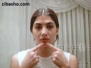 facial massage step 4 300x225  آموزش تصویری ماساژ صورت
