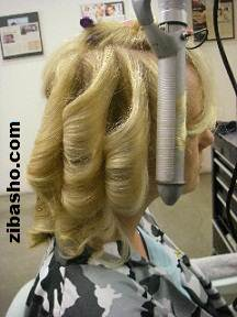 step 4 حالت دادن موها در 7 مرحله