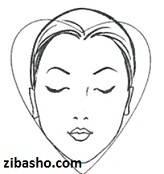 heart بهترین مدل مو مناسب نوع صورت شما(قسمت اول)