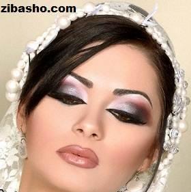 13170565444551 آرایش چشم عروس
