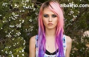 charlotte free pink purple hair Copy Optimized رنگ کردن موها به صورت فانتزی