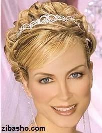 Wedding Hairstyles Medium Hair 9 آموزش شینیون عروس
