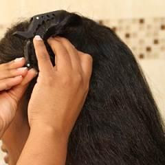 step2 آموزش کراتینه کردن موها در منزل