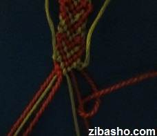 IMG 8653 آموزش بافتن دستبند دوستی با طرح قلب