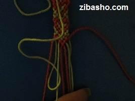 IMG 8657 آموزش بافتن دستبند دوستی با طرح قلب