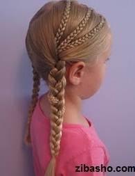 IMG 1818 دو ایده برای آرایش موهای صاف و لخت
