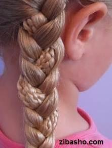 IMG 1820 دو ایده برای آرایش موهای صاف و لخت