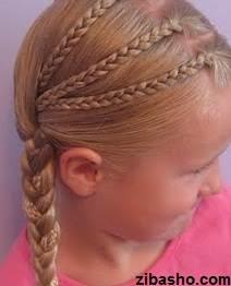 IMG 1829 دو ایده برای آرایش موهای صاف و لخت