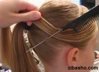 IMG 2811 دو ایده برای آرایش موهای صاف و لخت