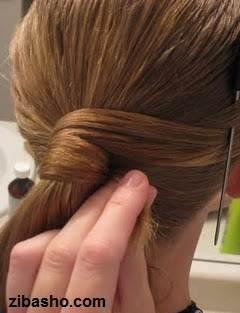 IMG 2812 دو ایده برای آرایش موهای صاف و لخت