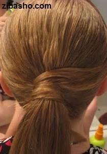 IMG 2816 دو ایده برای آرایش موهای صاف و لخت
