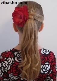 IMG 2833 دو ایده برای آرایش موهای صاف و لخت