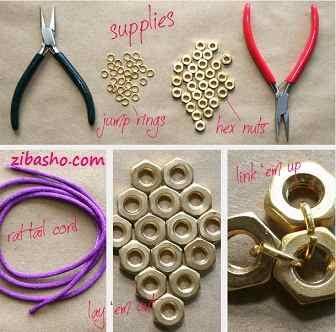 2 ساخت دستبند با مهره