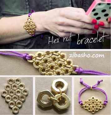 31 ساخت دستبند با مهره