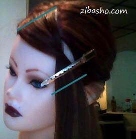 chatrikaj آموزش کوتاه کردن چتری زیبا