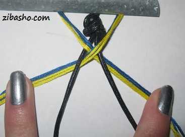 3 تکنیکی برای بافت دستبند دوستی