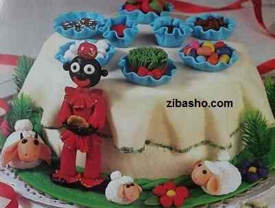 haftsinzibasho آموزش کیک هفت سین