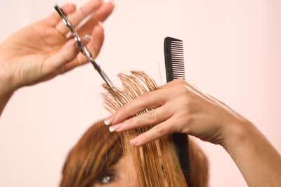 3vertical parting 90 degree آموزش تصویری کوتاه کردن مو بلند