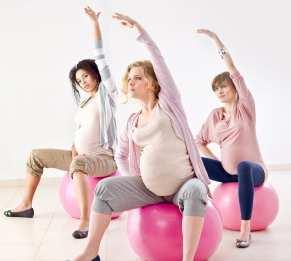 4 2 تقویت بدن و رهایی از درد در دو دوره ی آخر بارداری