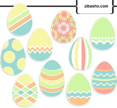 7sin egg  تخم مرغ هفت سین نوروز 92