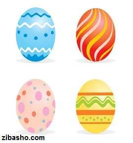 7sin egg1  تخم مرغ هفت سین نوروز 92