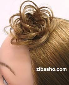 baftemu آموزش بافت مو به شکل گل