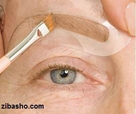 eyebrowziba10 Optimized چگونه استنسیل ابرویتان را بسازید و با آن کار کنید؟