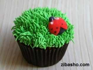 grass pastry tip for cupcake and cake decorating d72cc3c8 کیک با طرح سبزه نوروز