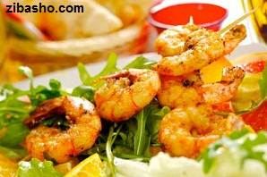 grilled shrimp Optimized از میگو بگو