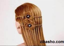 images Optimized آموزش بافت مو به شکل گل